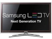 """32"""" Samsung L.E.D TV selling it for 130 need quick sale, price is negotiable."""
