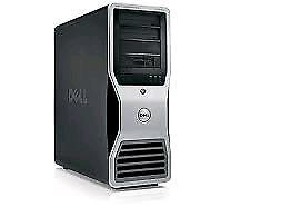 Dell t7400 8coeur ×3ghz + 32gb de ram + graphique 1gb + 1tb hdd