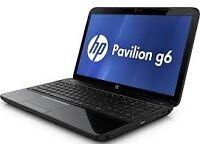 """PROFESSIONALLY REFURBISHED HP PAVILION G6"""" LAPTOP 6GB RAM 1TB HDD INTEL i3 WEBCAM HDMI 6 MTH WRNTY"""