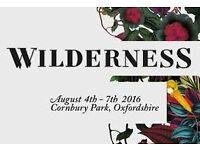 Wilderness 2016 Adult Weekend Ticket - General Camping