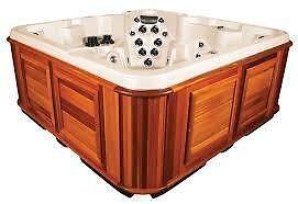 Refurbished 8 x 8 Arctic Tundra Lengend  series hot tub spa ( finance est 75.00 bi weekly )