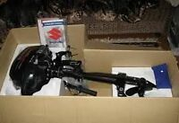 Suzuki DF 2.5 outboard motor (NEW) in the box