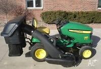 Lawn mowing service for the season