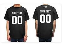 PERSONALIZE TOPS PRINTING SERVICE