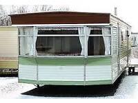 2 bedroom static caravan unsited PRICE DROP £1800