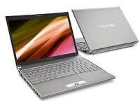 Toshiba Laptop ( Slimmest and Lightest Laptop )
