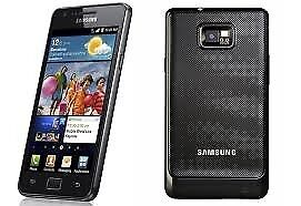 SAMSUNG S2 16 GB IN BLACK## UNLOCKED ##GREAT CONDITION