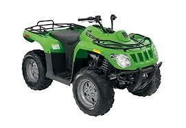 2009 Arctic Cat 366 4X4 WE FINANCE ANYTHING GOOD + BAD CREDIT OK