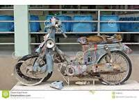 Unwanted motorcycles