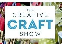 Creative Craft Show Ticket, Event City Manchester , Sat 3rd Feb RRP£10