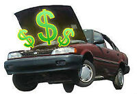 TOP CA$H PAID FOR YOUR OLD CAR!!!! CALL: 416-729-3837 $$$