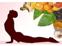 YOGA MEETS DELICIOUS FOOD IN A VERY SPECIAL EVENT (PROMO PRIZE: £15 yoga lesson + dinner)