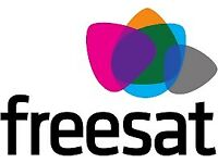 SATELLITE AERIAL TV FREESAT FREEVIEW SKY INSTALLATIONS EMERGENCY ELECTRICIAN DIGITAL TV AERIAL