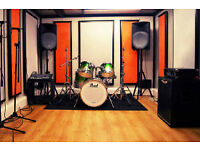 Book the best band practice space - Glasgow Music Studios