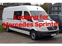 Looking for Mercedes Sprinter