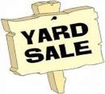 YARD SALE - EVERYTHING MUST GO !!