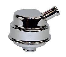 Chrome-Push-In-Breather-chrome-1-inch-neck-filter-valve-cover-mopar-dodge-tube