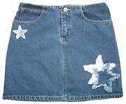 Girls Jean Skirts