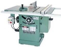 "General 3hp 10"" table saw"