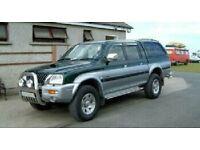 Wanted jeeps all types.l200,four trax,ranger,shogun,touareg4x4,l200£750..