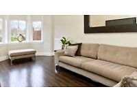 Corner Suite and footstool from Sofology