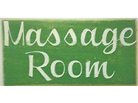 Massage shop letting out massage room 6 days a week to massage therapist - £150 a week