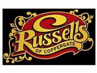 Carvery Chef - Russells of Coppergate, York