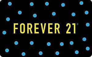 forever 21 /$73 Gift card Credit