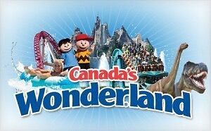 2 tickets to Canada's wonderland