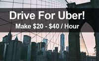50$ Bonus to Drive for Uber!
