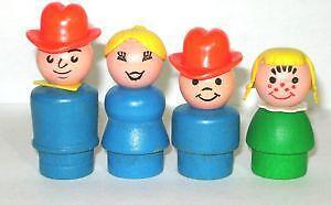 vintage fisher price people