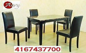 Furniture warehouse:Dinette,  Sofas,  Bedroom sets, Coffee tables, Custom made also available Call 4167437700