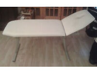 White Heavy Duty Beauty Couch