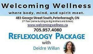 Welcoming Wellness Reflexology Certificate: 3-1 hour sessions
