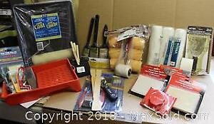 "Painting Supplies - Most NewPick up in Timeslot ""A"""