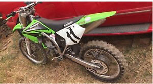 2004 Kx250f low hours tuned right up