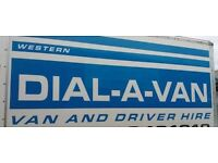 DIAL-A-VAN VAN AND DRIVER FREE QUOTES 7 DAYS ALL AREAS