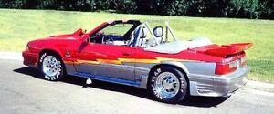 Mustang Convertible 1987 520 hp, modified