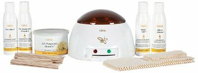 GiGi Student Starter Waxing Kit 0366 Pro Esthetician Wax Warmer Honee Can Strips