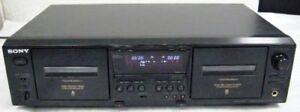 SONY TCWE-475 DUAL STEREO CASSETTE DECK