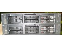 HP Proliant DL385 Twin Dual Core 2.4GHZ 1MB 64-Bit 8GB RAM 2U Server 399684-421 - 2 available