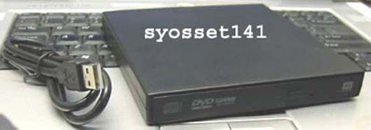 External USB CD-R DVD Burner ROM Player Drive for Sony VAIO