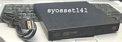 External Usb Cd Dvd Rom Player Drive For Netbook Laptop D...