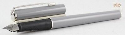 SHEAFFER AGIO 9092 COOL ARTIC MIST WITH CHROME TRIM FOUNTAIN PEN SUPERB AWESOME!