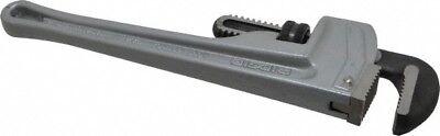 Ridgid 12 Aluminum Straight Pipe Wrench 2 Pipe Capacity