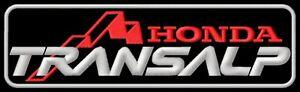 Honda Transalp 650 XL 600 700 XL650 V XL700 XL700V XL650V Parche bordado patch - Poznan, Polska - Zwroty są przyjmowane - Poznan, Polska