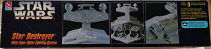 1995 AMT/ERTL Star Wars Star Destroyer w/ Fibre Optic Lighting Edmonton Edmonton Area image 4
