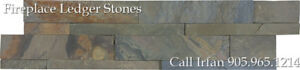 Indian Coast Fireplace Ledger Stones Corner Wall Facing