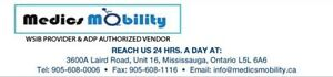 Medics Mobility Mississauga WSIB Provider Home Health Care