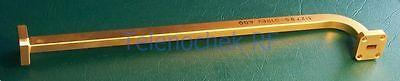 Millitech High Quality Wr28 Wr-28 Waveguide Line 9 90deg Line Bend Flanges